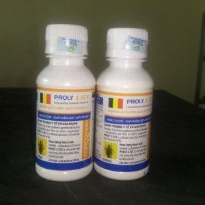 Thuốc diệt ruồi proly 2.5 Sc chai 100 ml