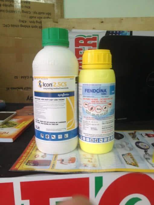 Fendona 10 sc và Thuốc Diệt Muỗi Icon 2.5 Cs & Fendona 10 sc