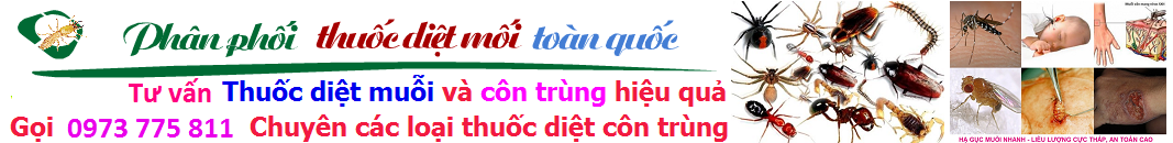 Banner bán thuốc diệt côn trùng