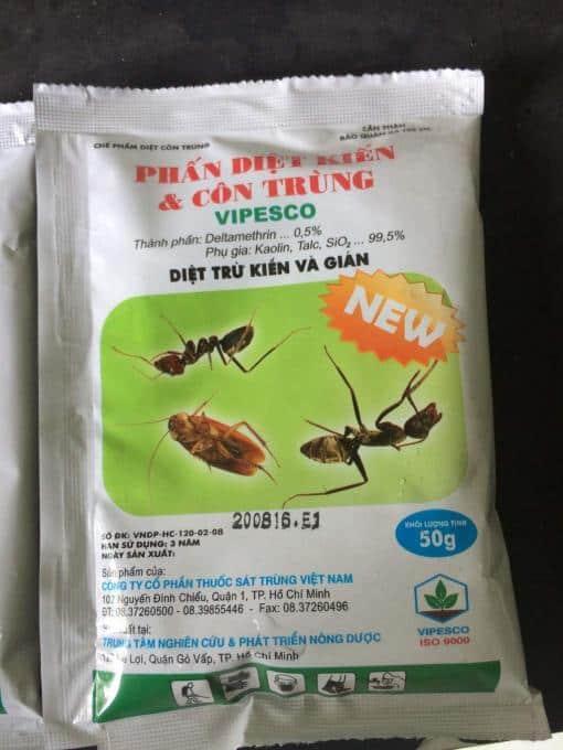 Phấn diệt kiến gián Vipesco