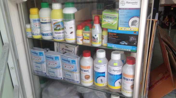 Đại lý thuốc diệt mối muỗi côn trùng