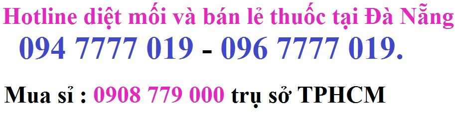 Nơi bán thuốc diệt mối tại Đà Nẵng
