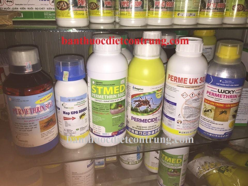Thuốc diệt muỗi và côn trùng Permethrin 50ec