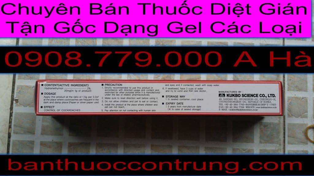 Chuyen Ban Gel Diet Con Trung Cac Loai
