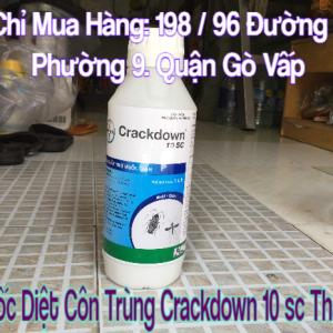 Thuoc Diet Con Trung Crackdown 10 Sc