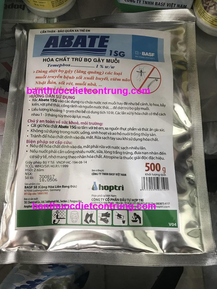 Hóa chất diệt loăng quăng bọ gậy abate-1sg-500g-full