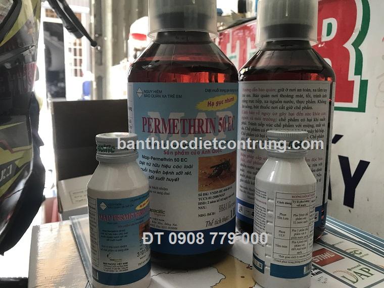 Thuốc diệt muỗi MAppermethrin 50ec