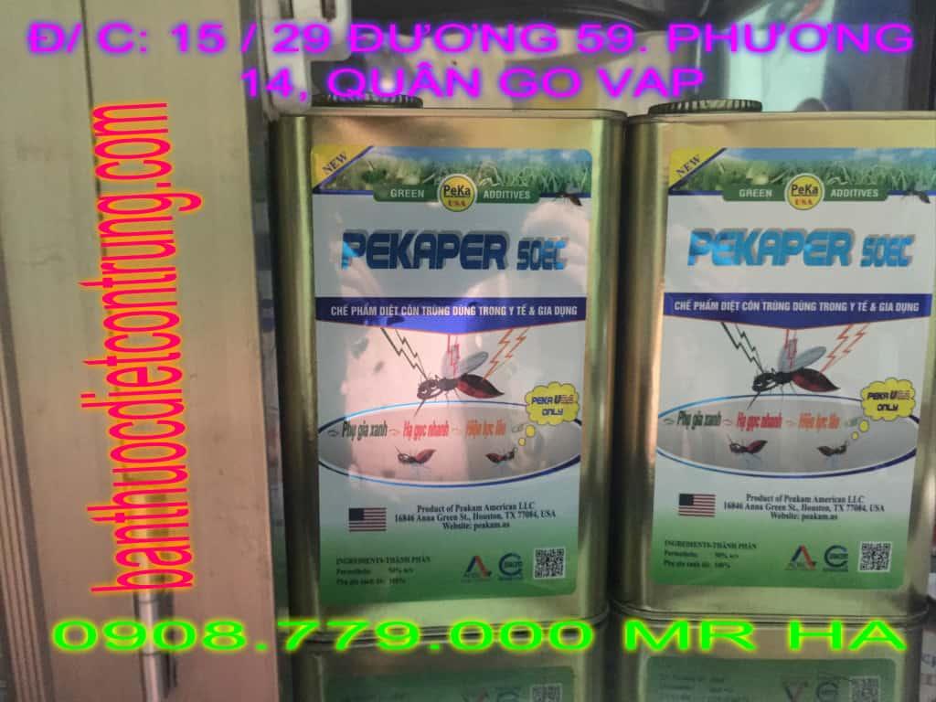 Bán Thuốc Diệt Muỗi PEKAPER 50 Ec