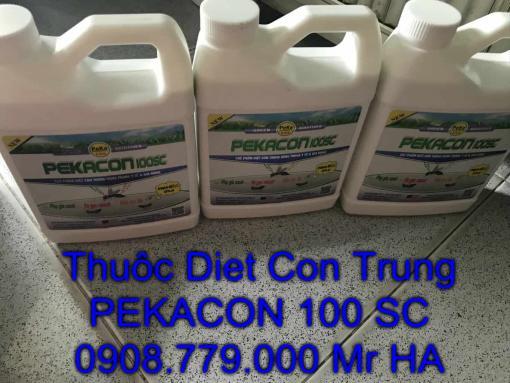 bán thuốc diệt côn trùng gia rẻ ngoài trời PEKACON 100 Sc