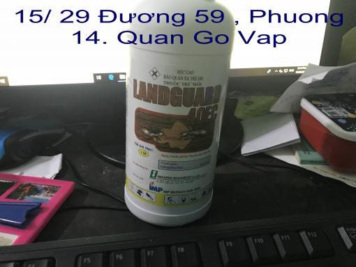 CHAI THUOC DIET PHONG MOI LANDGUARD 40 EC