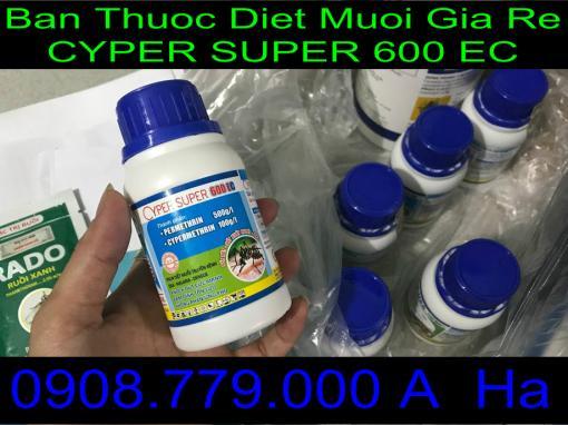 Ban Thuoc Diet Muoi Gia Re CYPER SUPER 600 Ec
