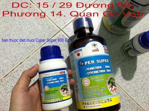 Chuyen Ban thuoc Diet Muoi CYPER SUPER 600 Ec