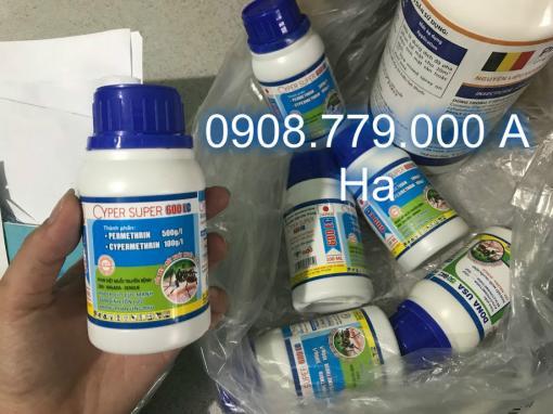 Thuoc Diet Muoi CYPER SUPER 600 Ec Dung Tich 100 ml