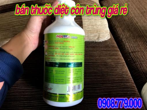 Thuoc Diet Con Trung FEN USA 120 Sc Dạng 1 Lit