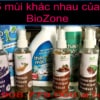 5 mui khac nhau cua Khu Mui Diet Khuan BioZone